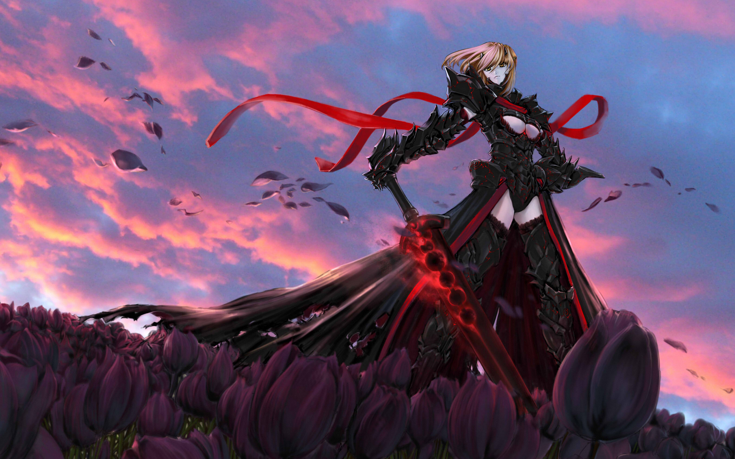 Anime – Fate/Stay Night Saber Alter Wallpaper