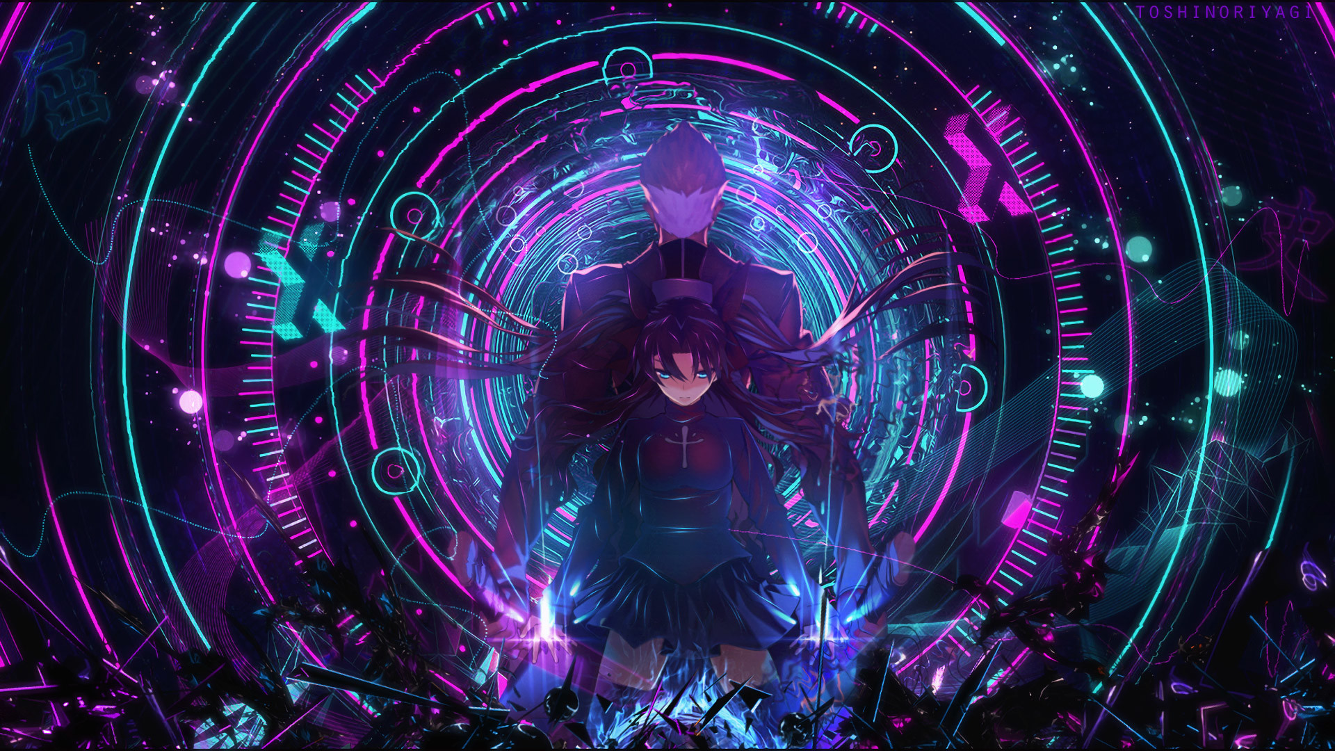 Archer Fate Stay Night Rin Tohsaka