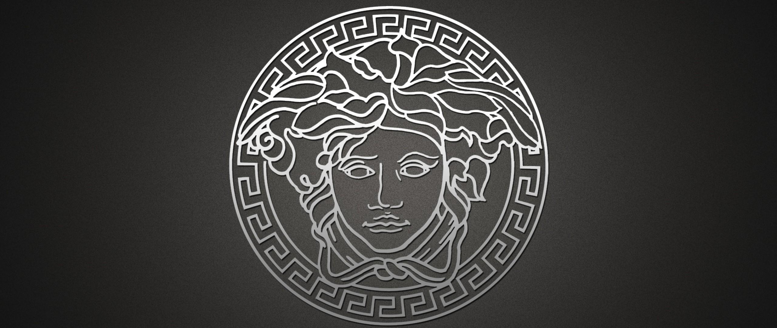 Wallpaper versace, logo, brand