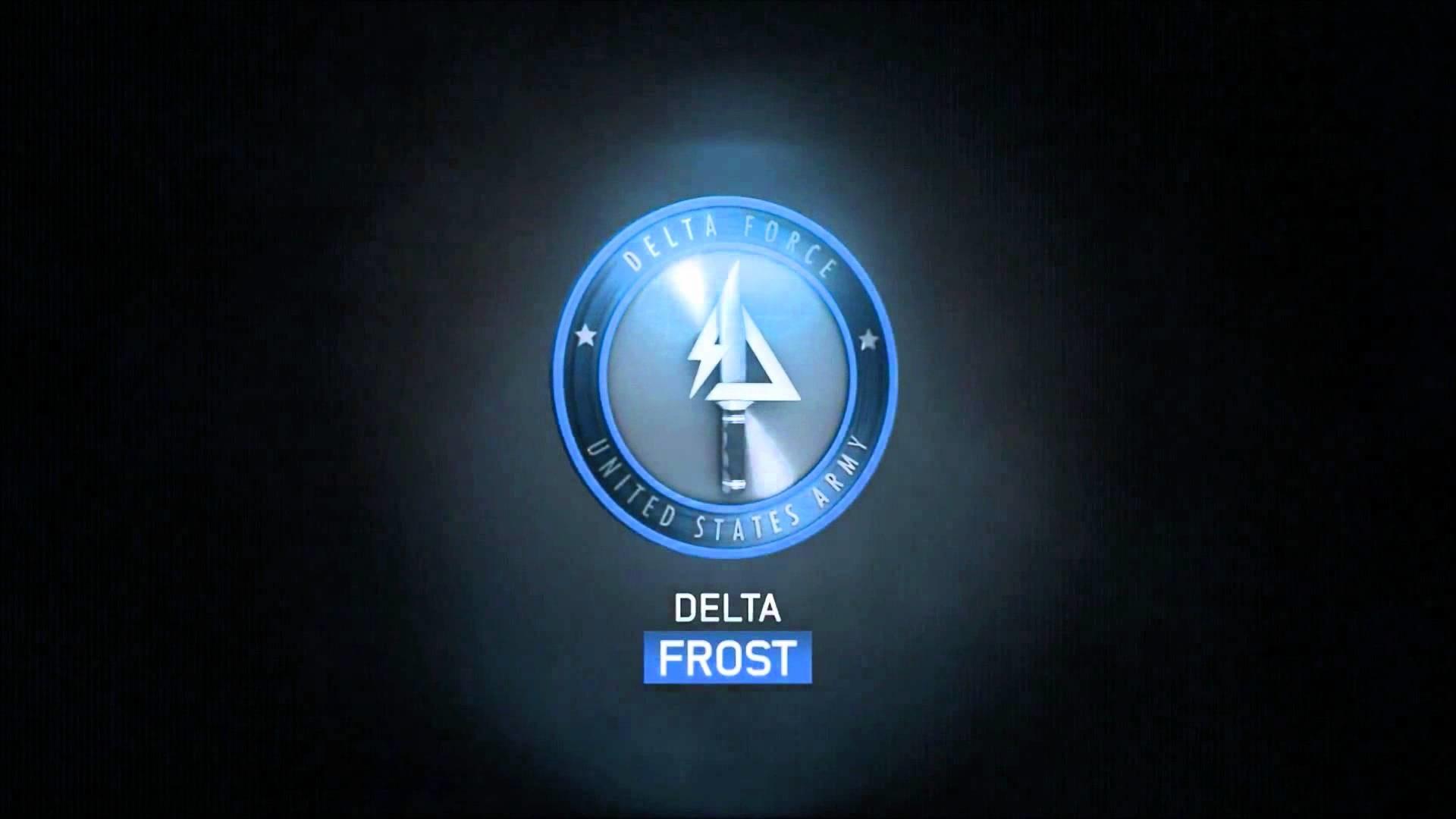 Logo de los delta force (call of duty MW3)