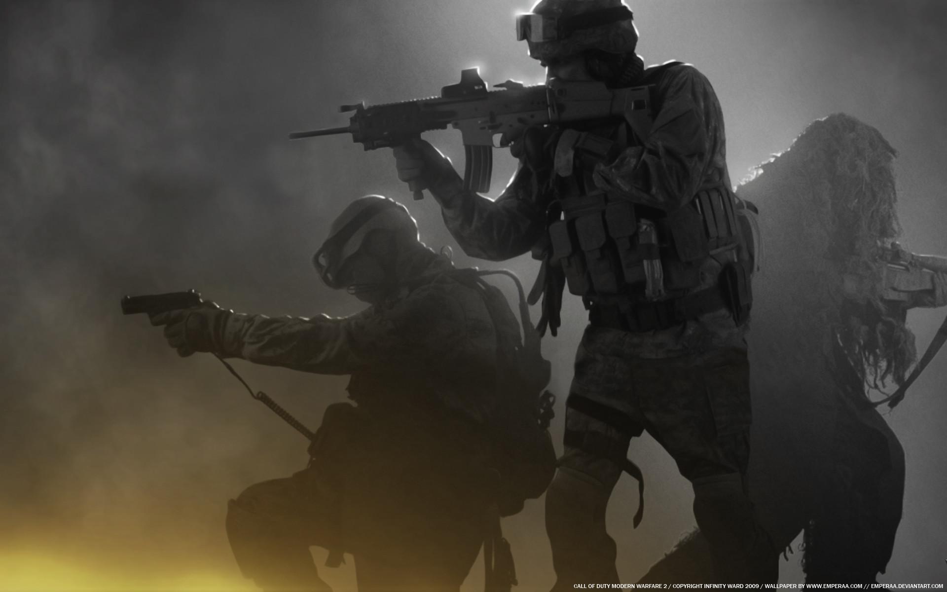 … Modern Warfare 2 – Soldiers by emperaa