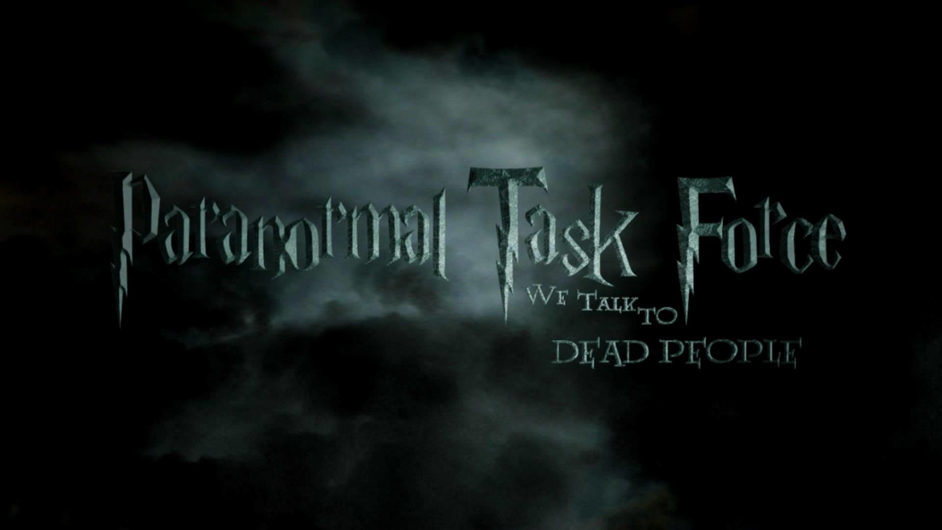 Paranormal Task Force (PTF) – Harry Potter Style Logo