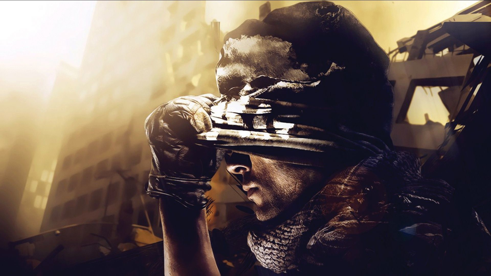 Call Of Duty Wallpaper Group with items