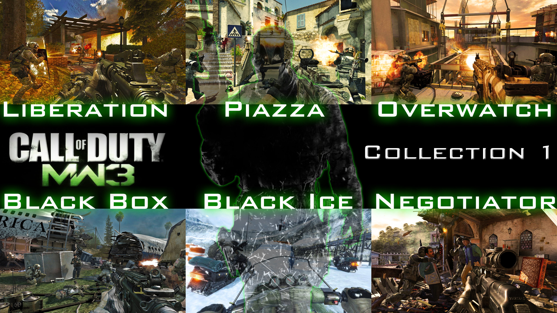 … Call of Duty MW3 Collection 1 Wallpaper by X-NEON-98-X