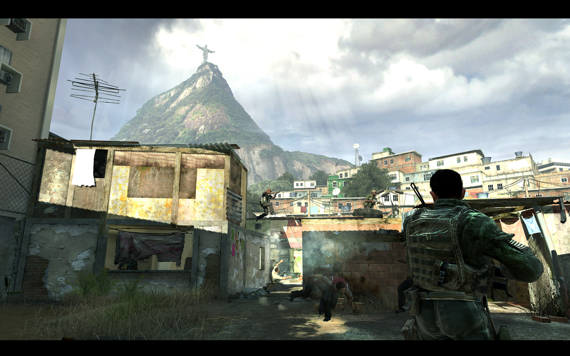 Immediately afterwards, Task Force 141 is dispatched to Rio de Janeiro to  hunt down the weapons dealer who supplied Makarov. This takes you and your  team …