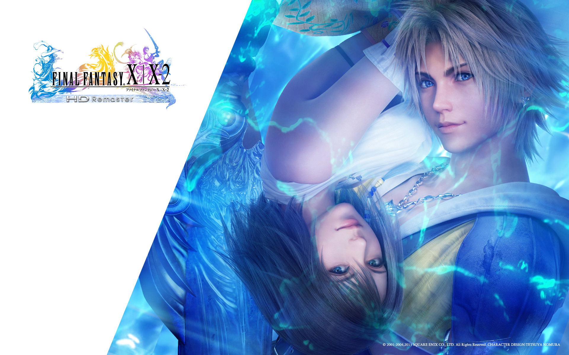 Image – FFX X-2 HD Tidus Yuna 1920×1200.jpg | Final Fantasy Wiki | FANDOM  powered by Wikia