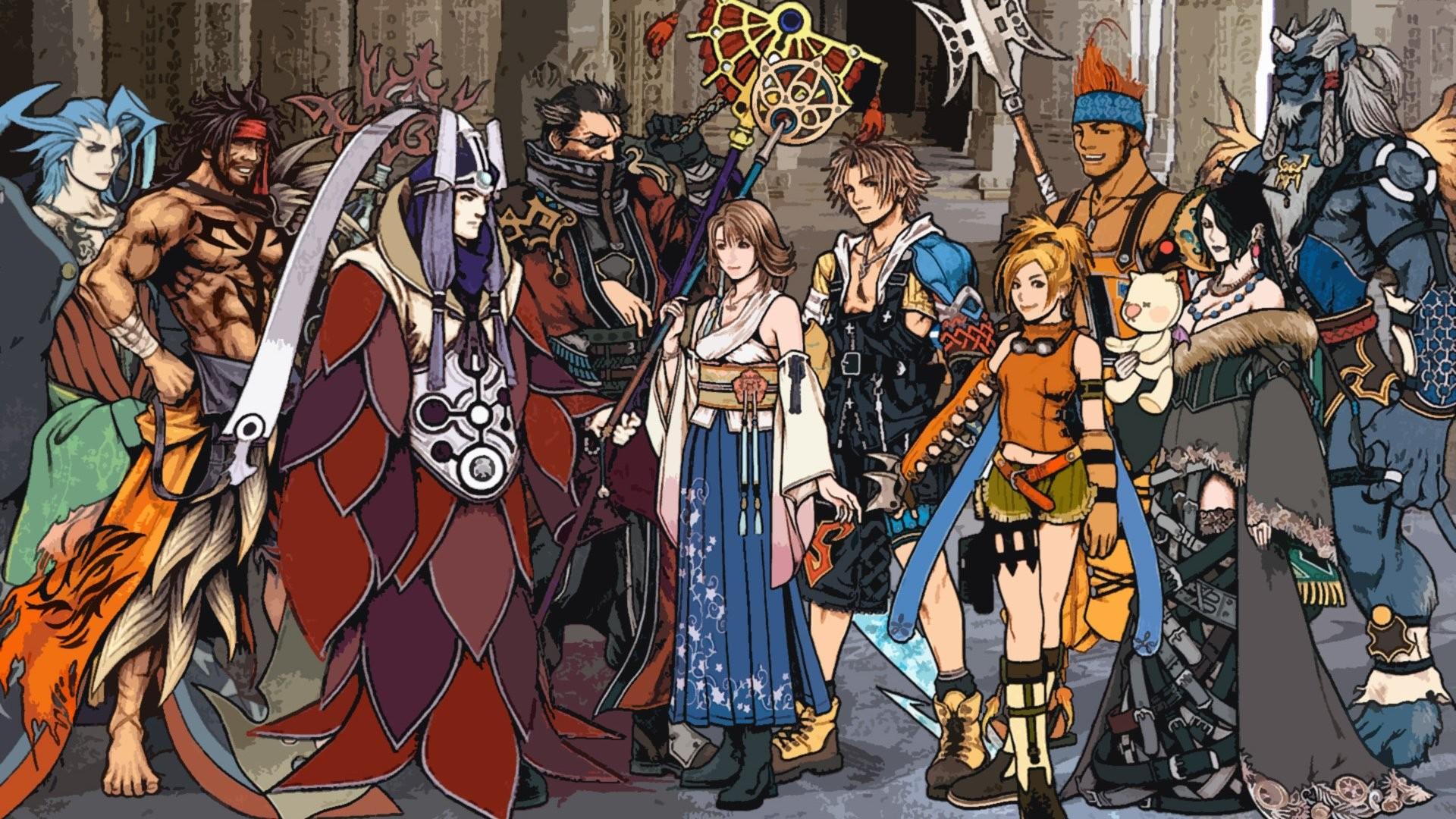 Final Fantasy X Tidus Yuna · HD Wallpaper | Background ID:746259