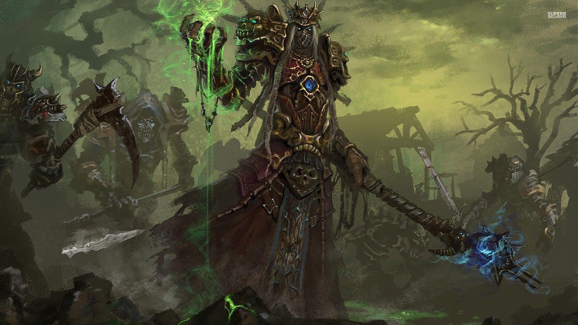 Undead warlock – World of Warcraft wallpaper – Game wallpapers .