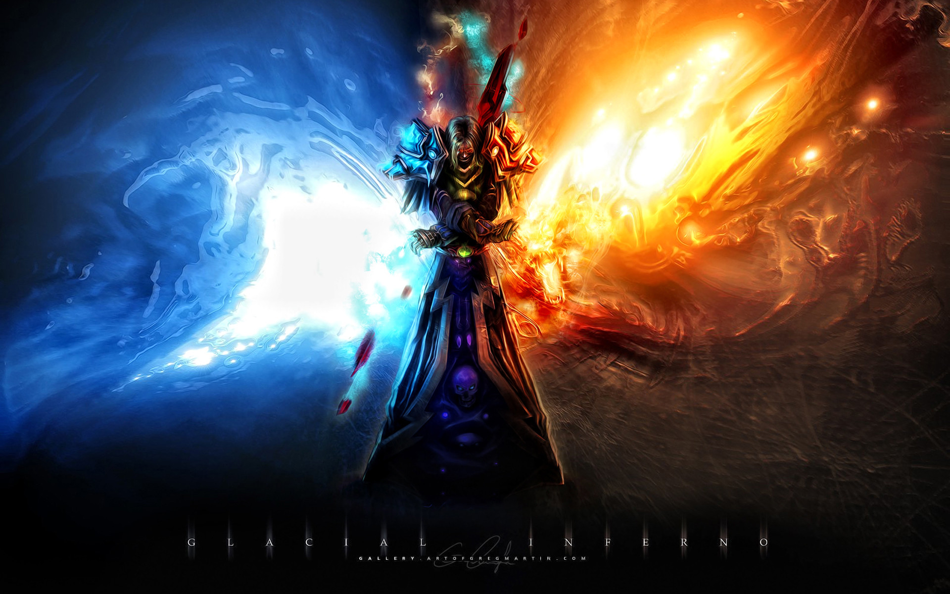 world of warcraft wallpaper frost mage – Google Search