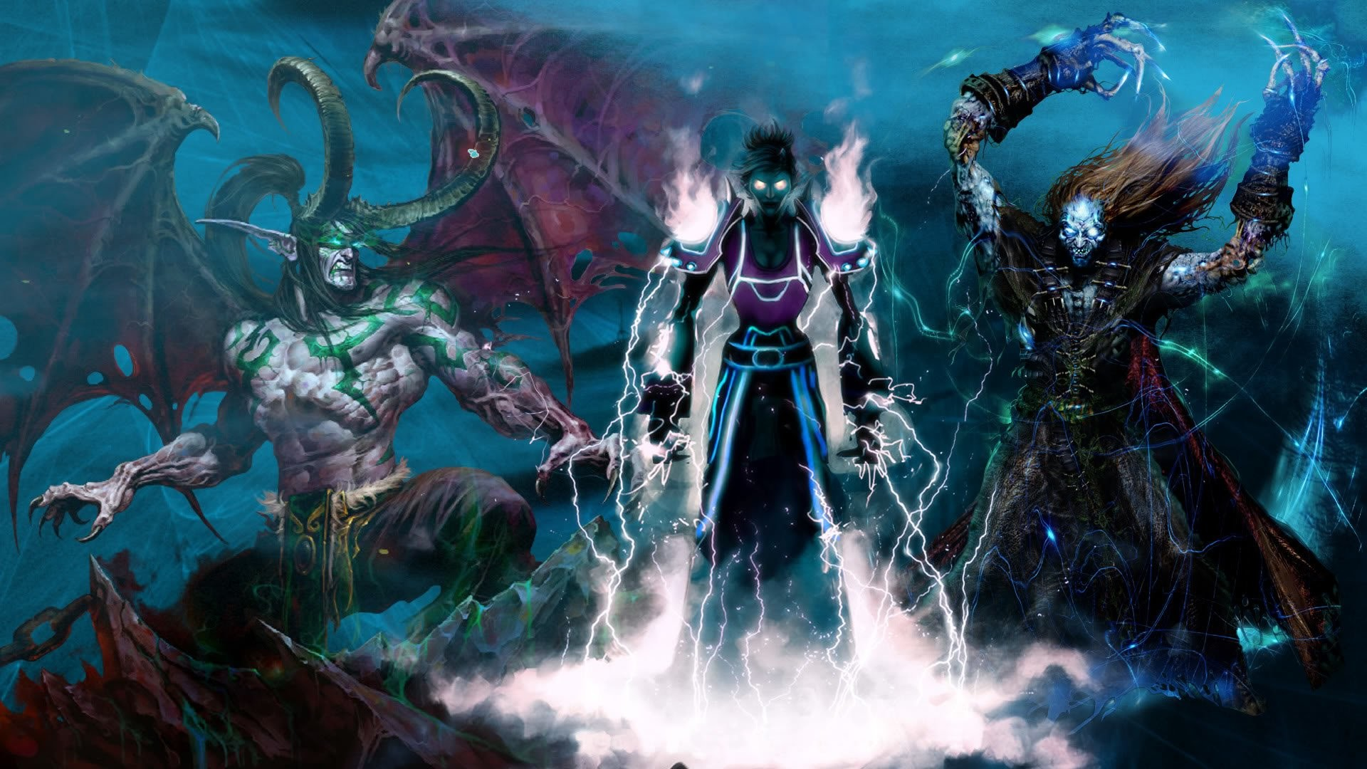 Video Game – World Of Warcraft Undead Priest Mage Ilidan Wallpaper