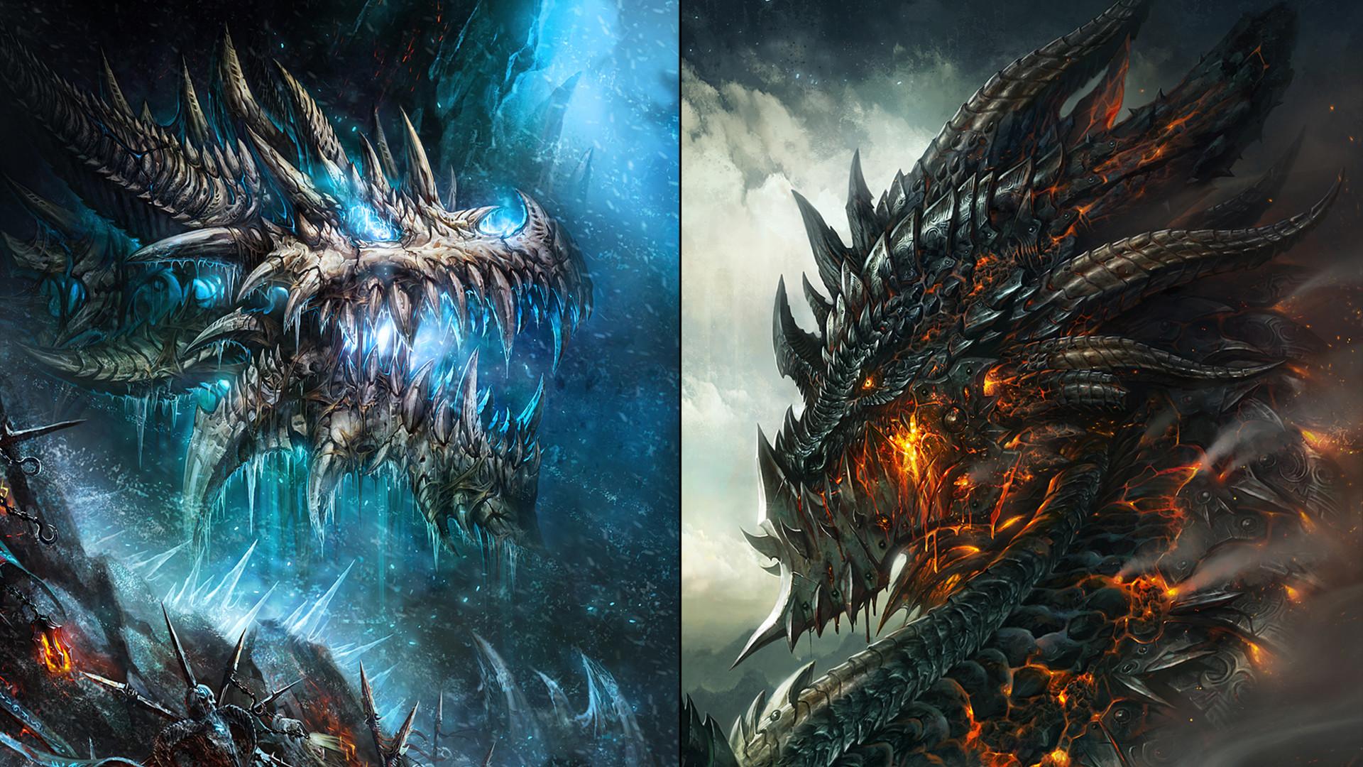 WoW Dragon Wallpaper 2 by slimebuck WoW Dragon Wallpaper 2 by slimebuck