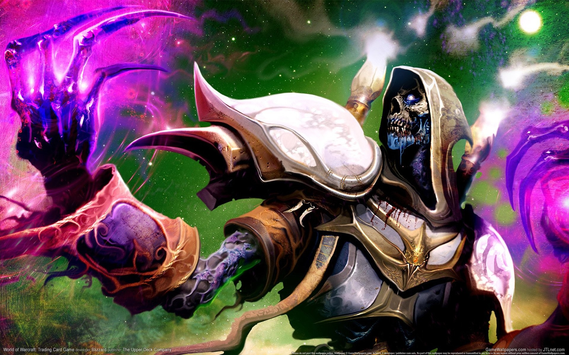 Video Game – World Of Warcraft Undead Priest Shadow Wallpaper