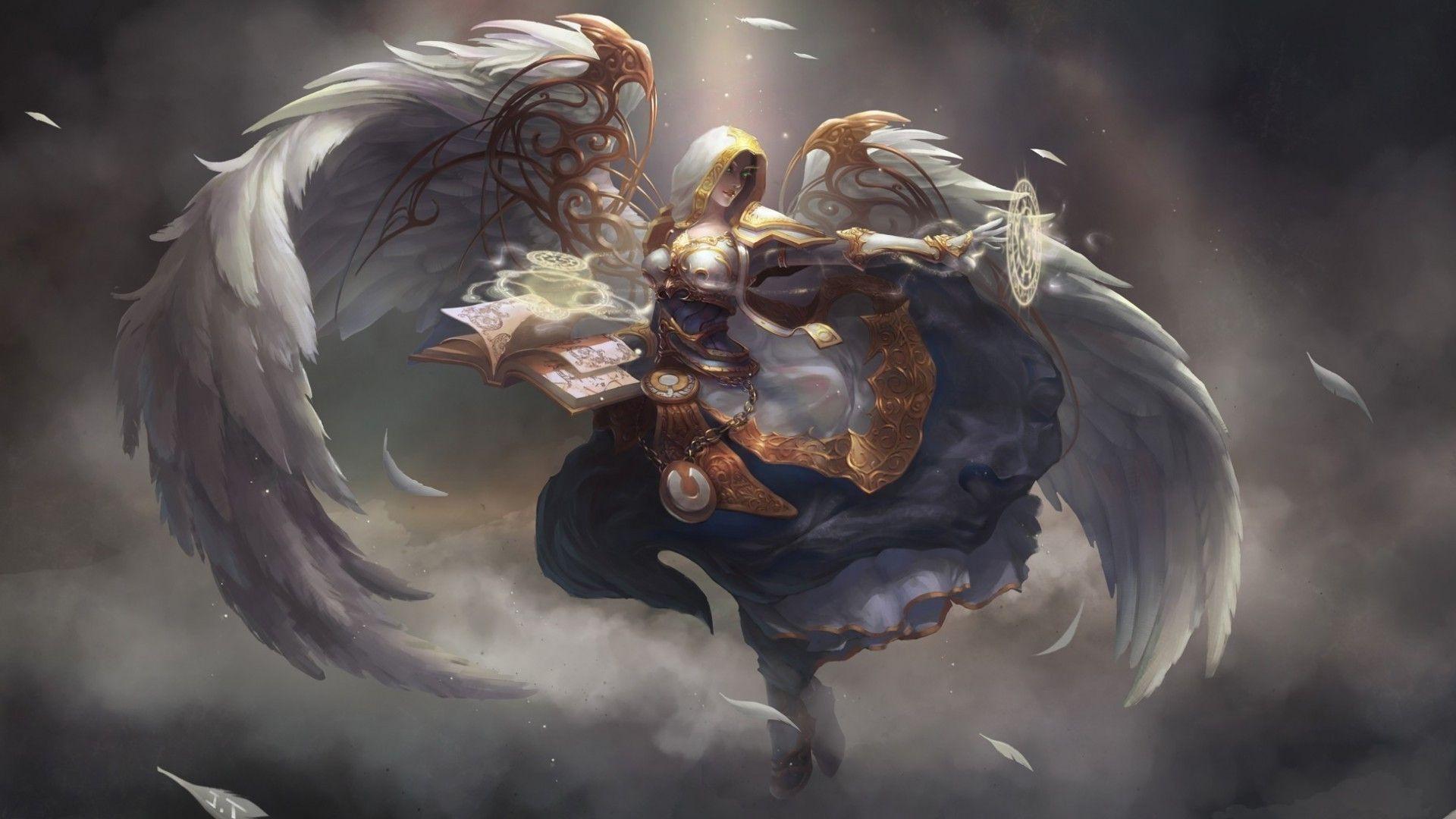 Angel priest – World of Warcraft Wallpaper #