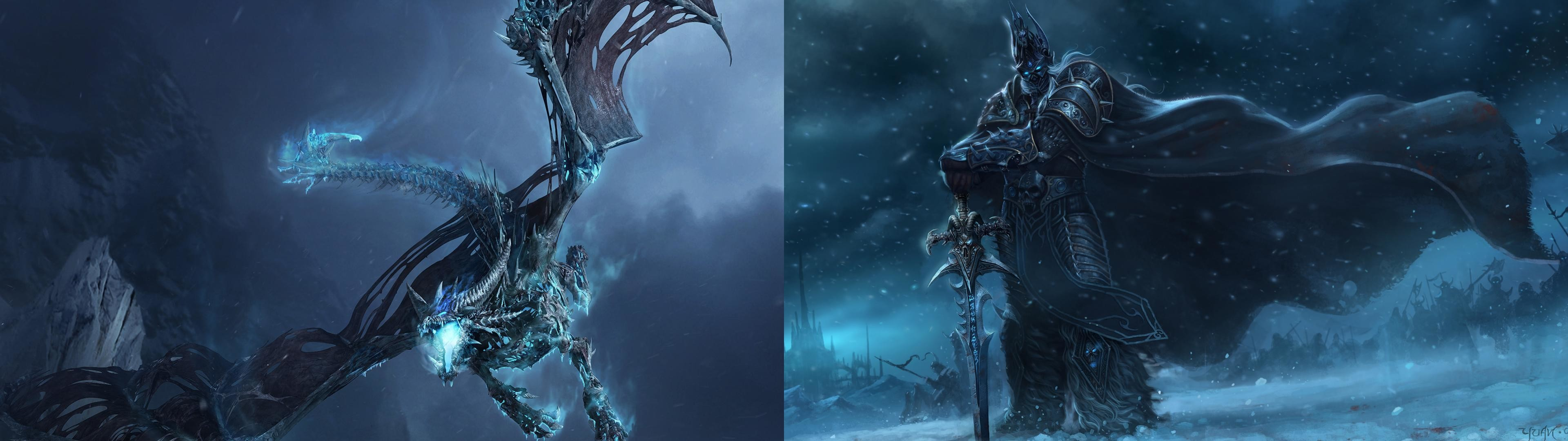 World Of Warcraft Dual Monitor Wallpapers – Wallpaper Zone