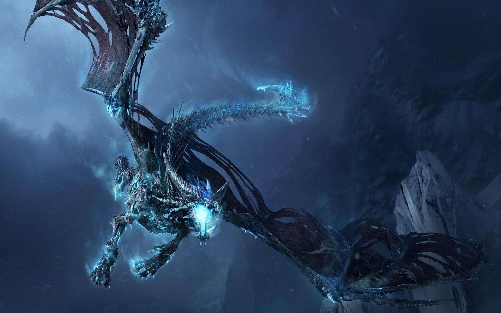 Dragons Undead Dracolich World Of Warcraft Wrath The Lich King Frostwyrm …