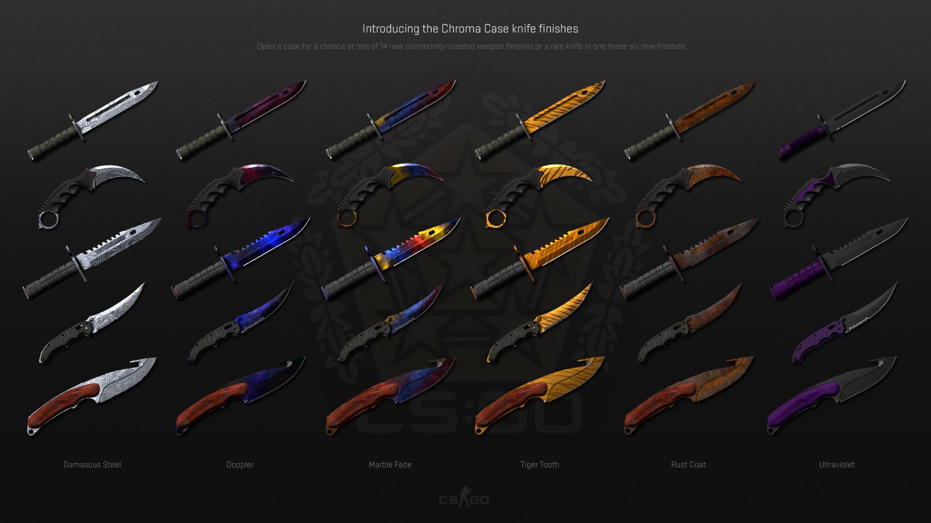 CS Go Knife Wallpaper