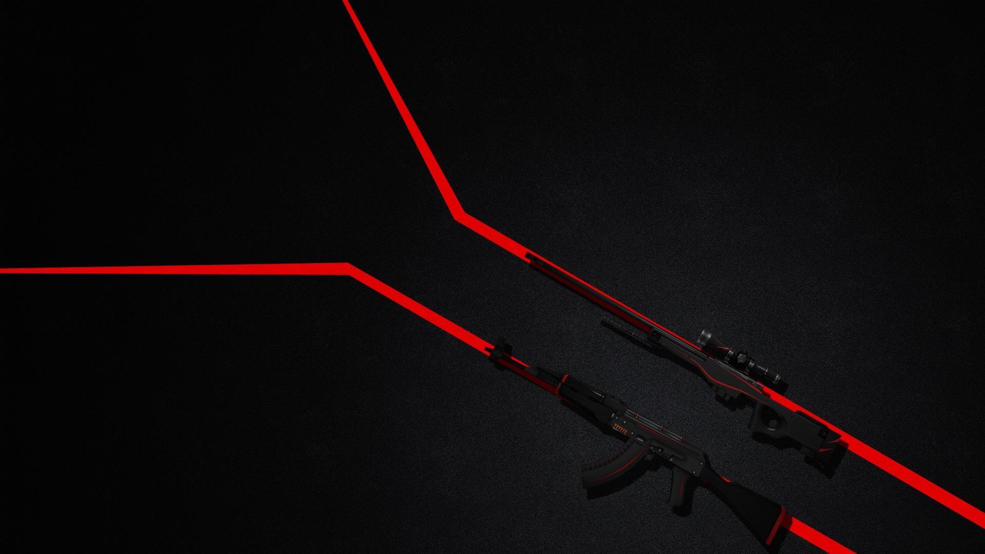 AK47 AWP Redline Wallpaper