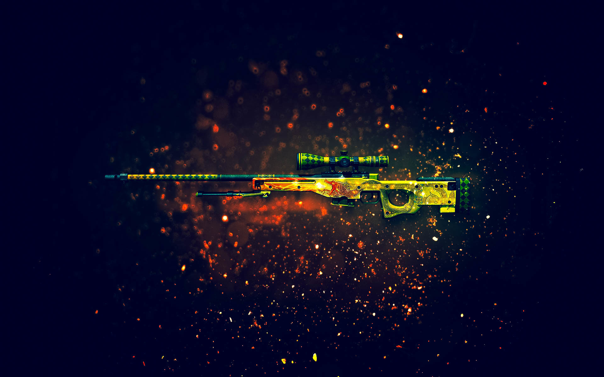 AK-47 | Aquamarine Revange | CS:GO | Skins | Pinterest | AK 47 and Video  games
