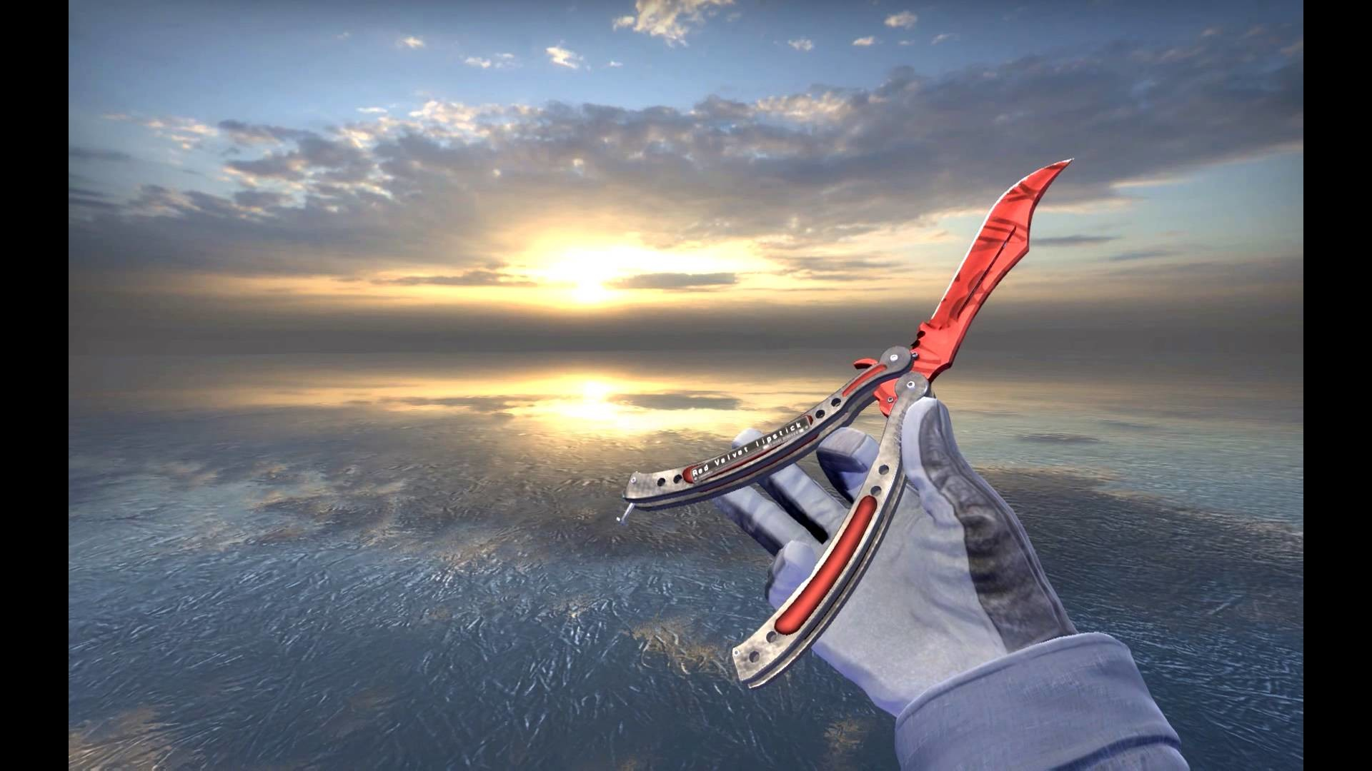 CSGO my dream knife XD (Butterfly knife slaughter factory new) – YouTube