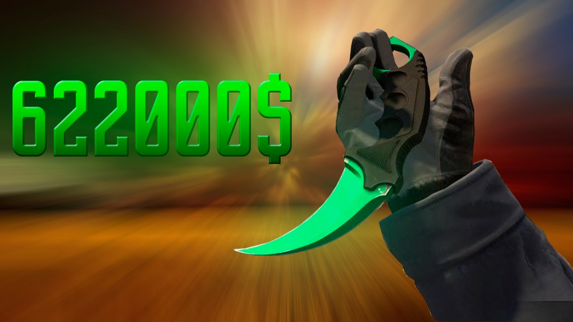 CS:GO – $622,000 Inventory (854 Knives) The Most EXPENSIVE Steam Inventory  in 2016! – YouTube