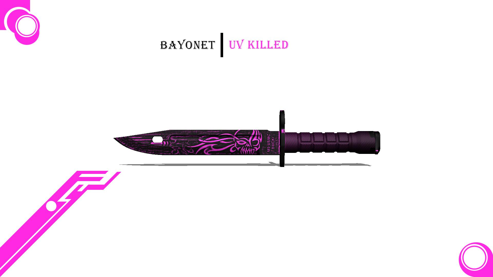 CS:GO Bayonet Knife