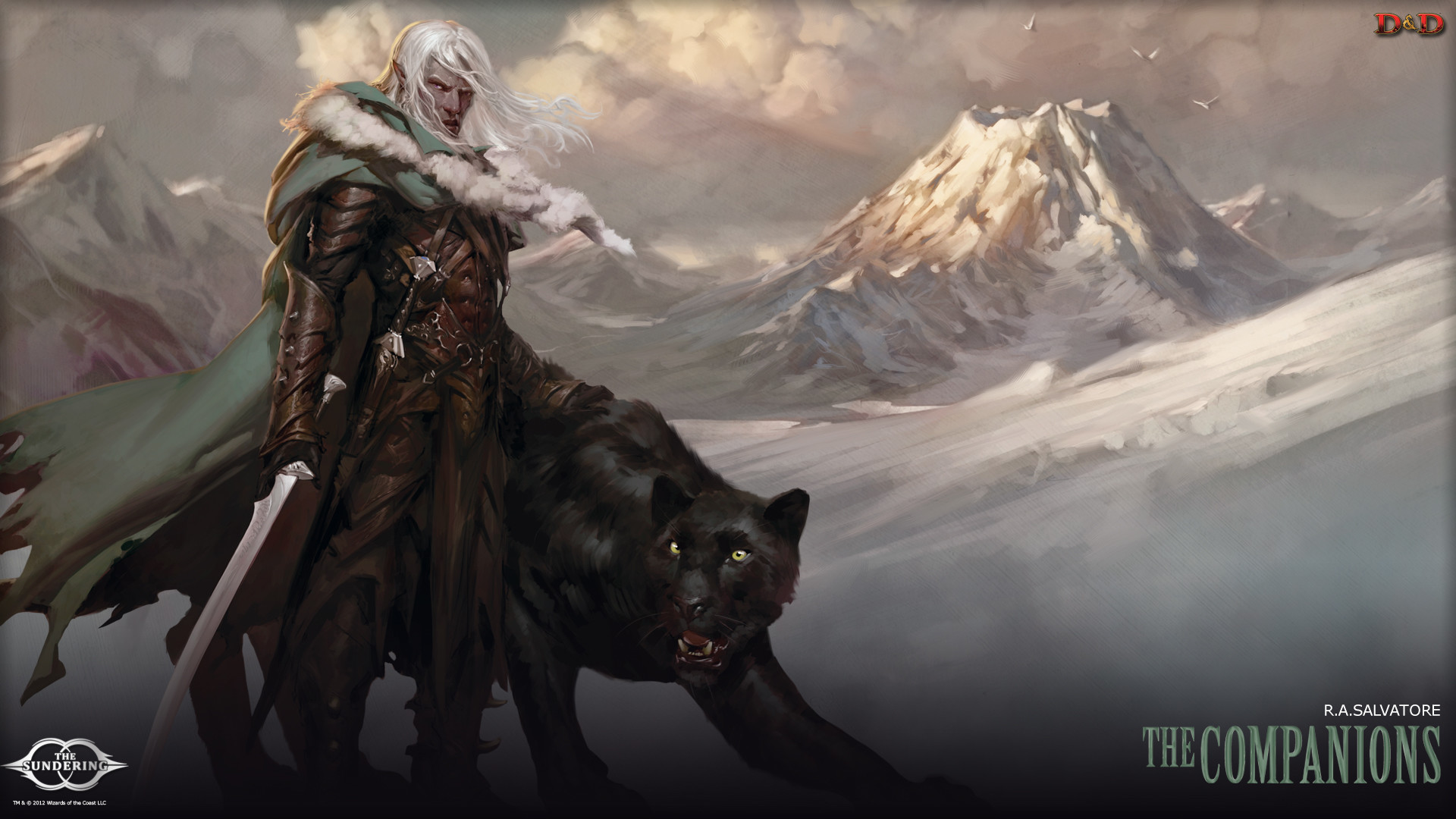 Drizzt Wallpaper Dungeons & dragons: tyranny of