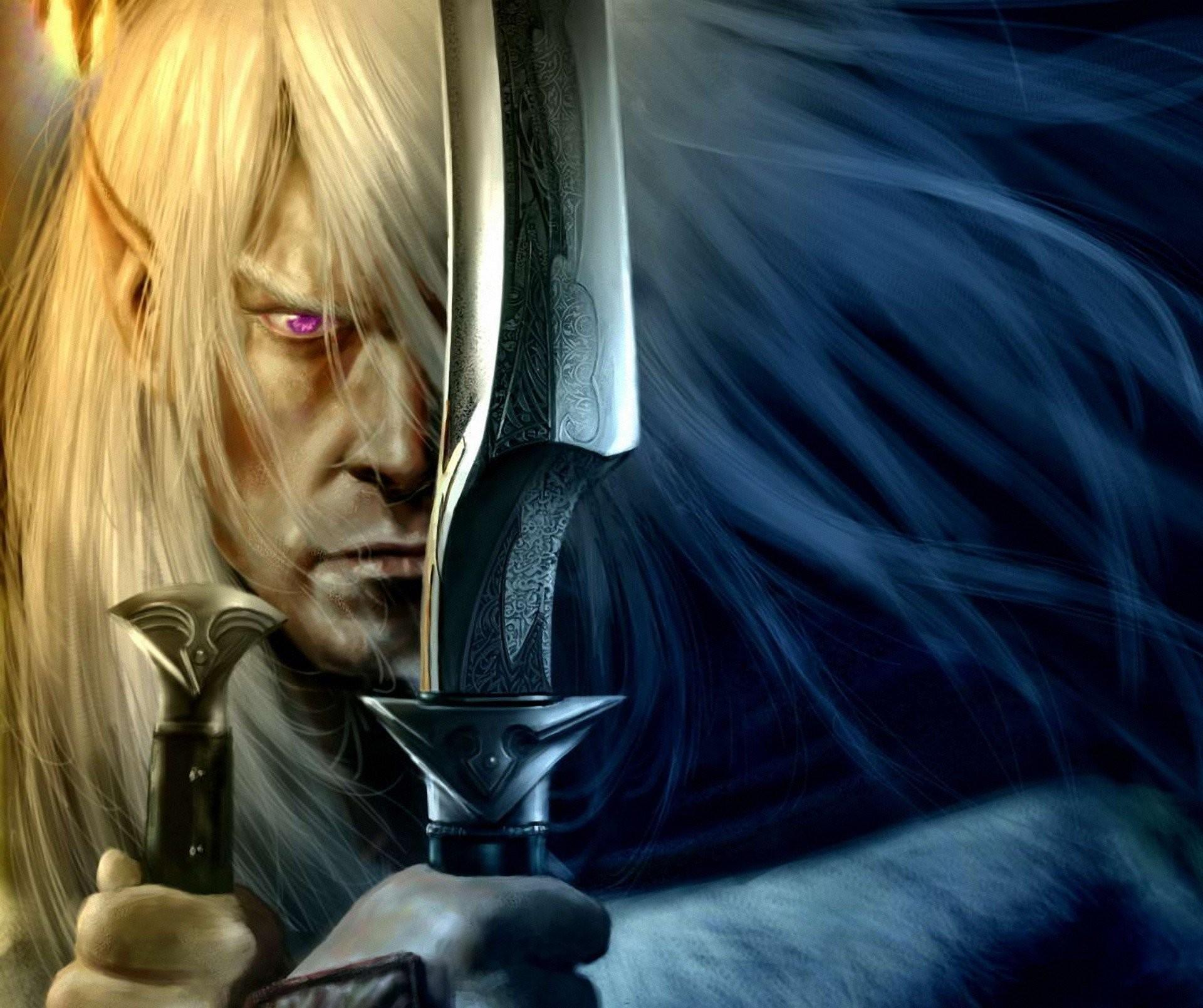 art drow elf weapon saber robert salvatore robert salvatore dark elf drizzt  drizzt do'urden