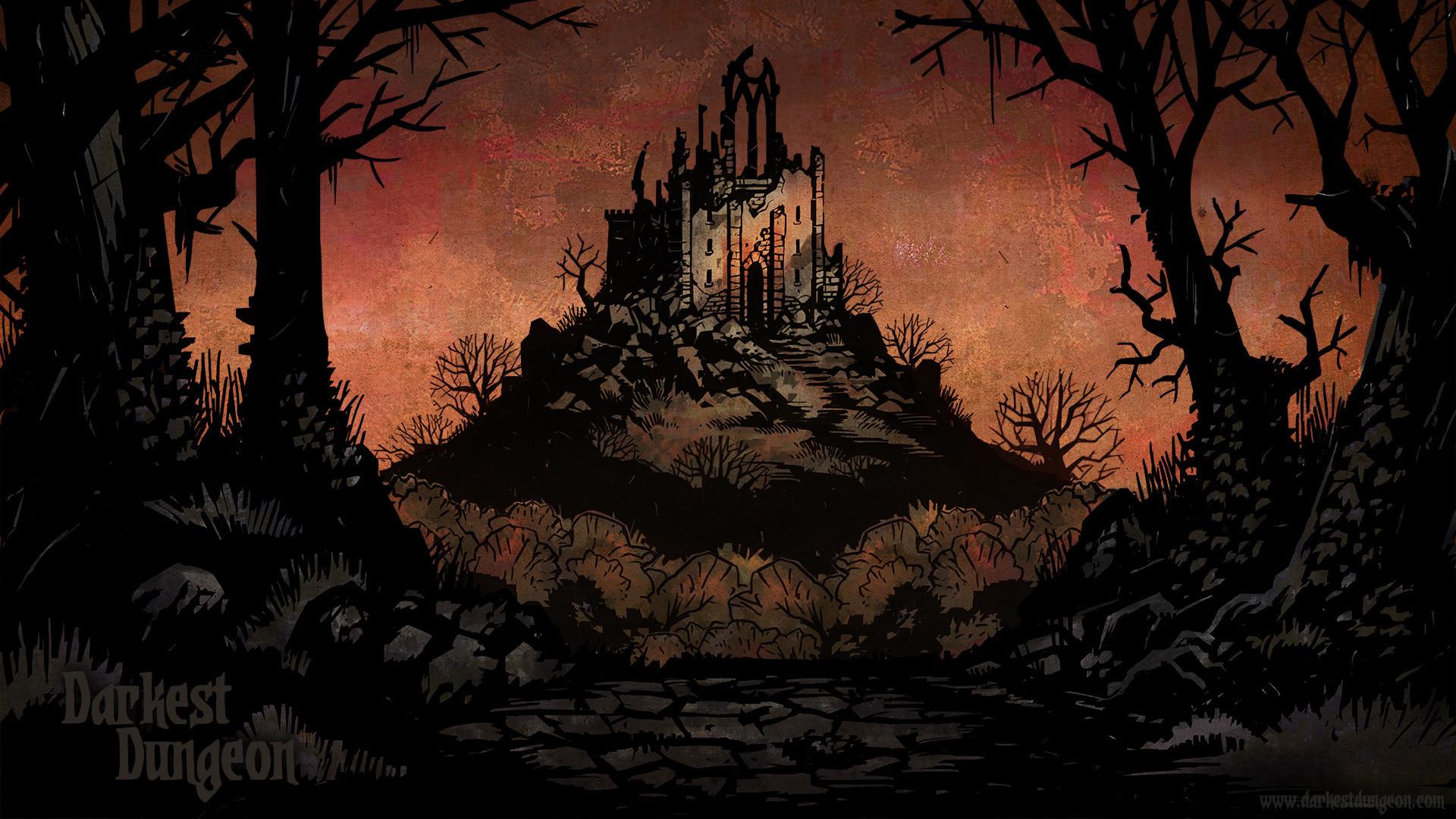 Video Game Darkest Dungeon Wallpaper