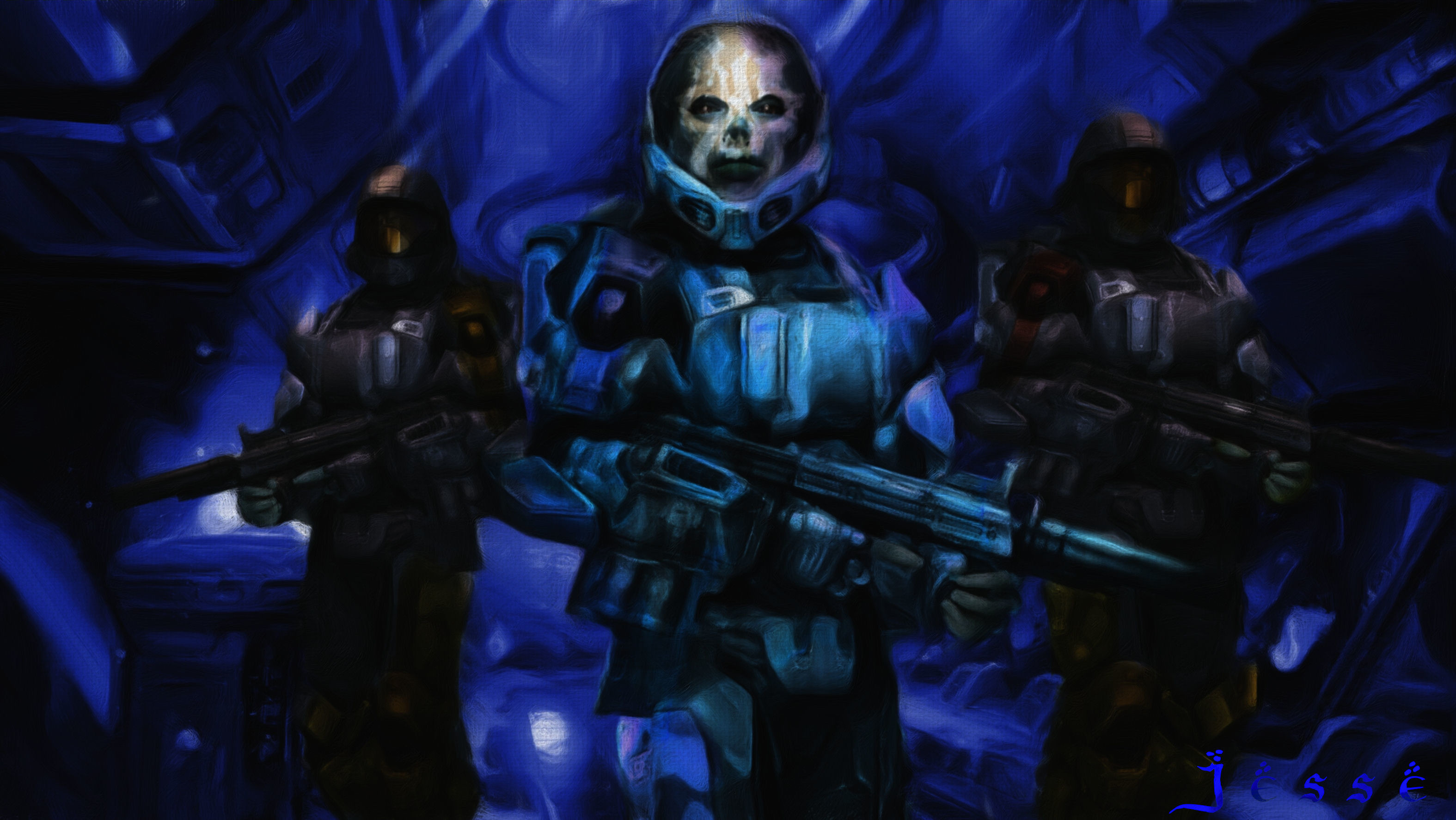 … Halo4.painted.wip.1done by DRIZZT–DO-URDEN