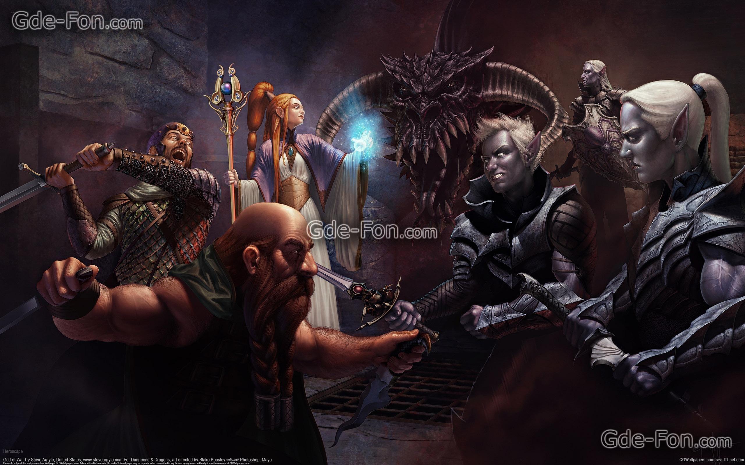 Download wallpaper Art, skirmish, Dark Elves, mage free desktop .
