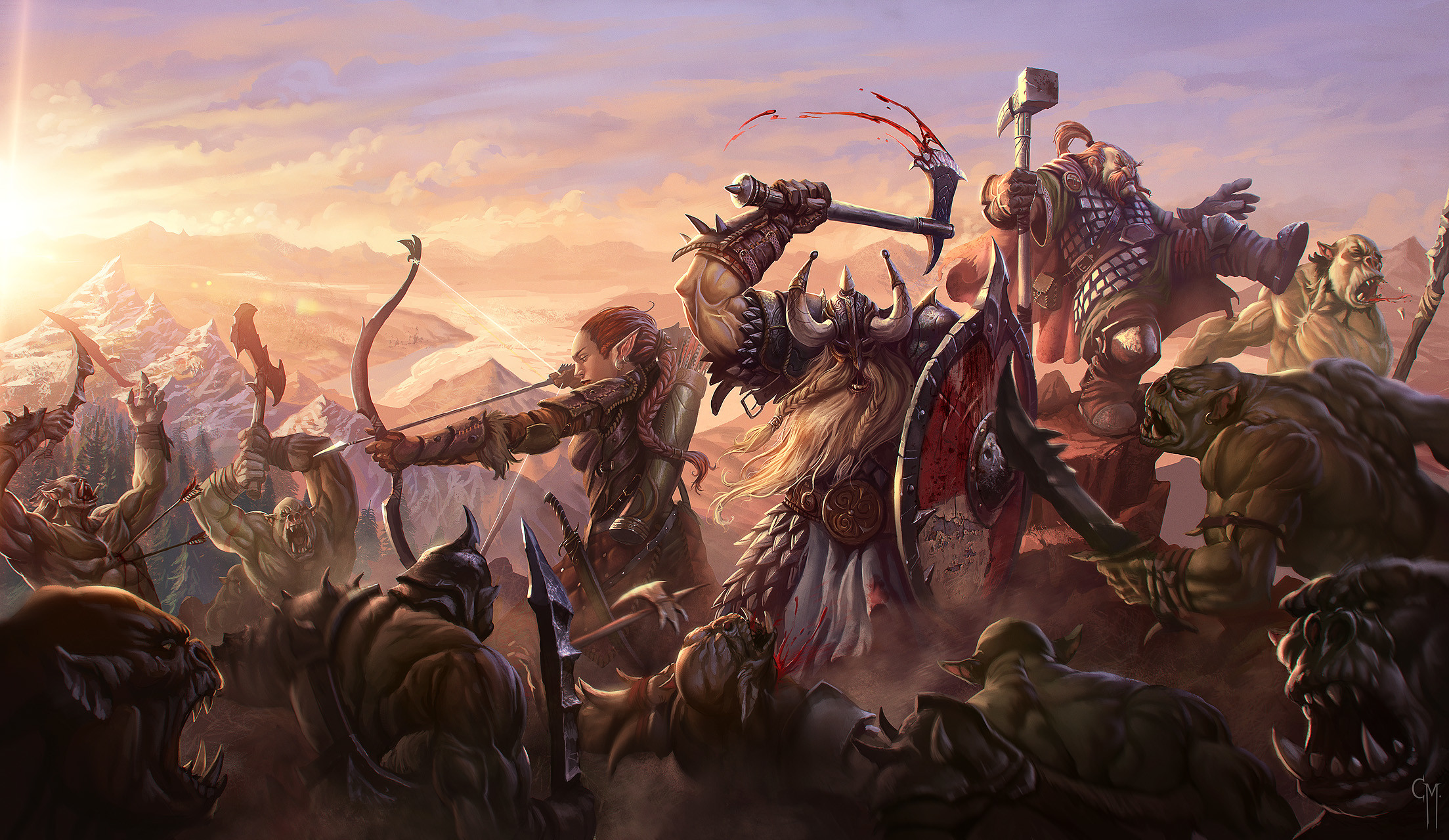 Final Battle by Hamsterfly   Inspiration   Pinterest   Art reference and  Artwork