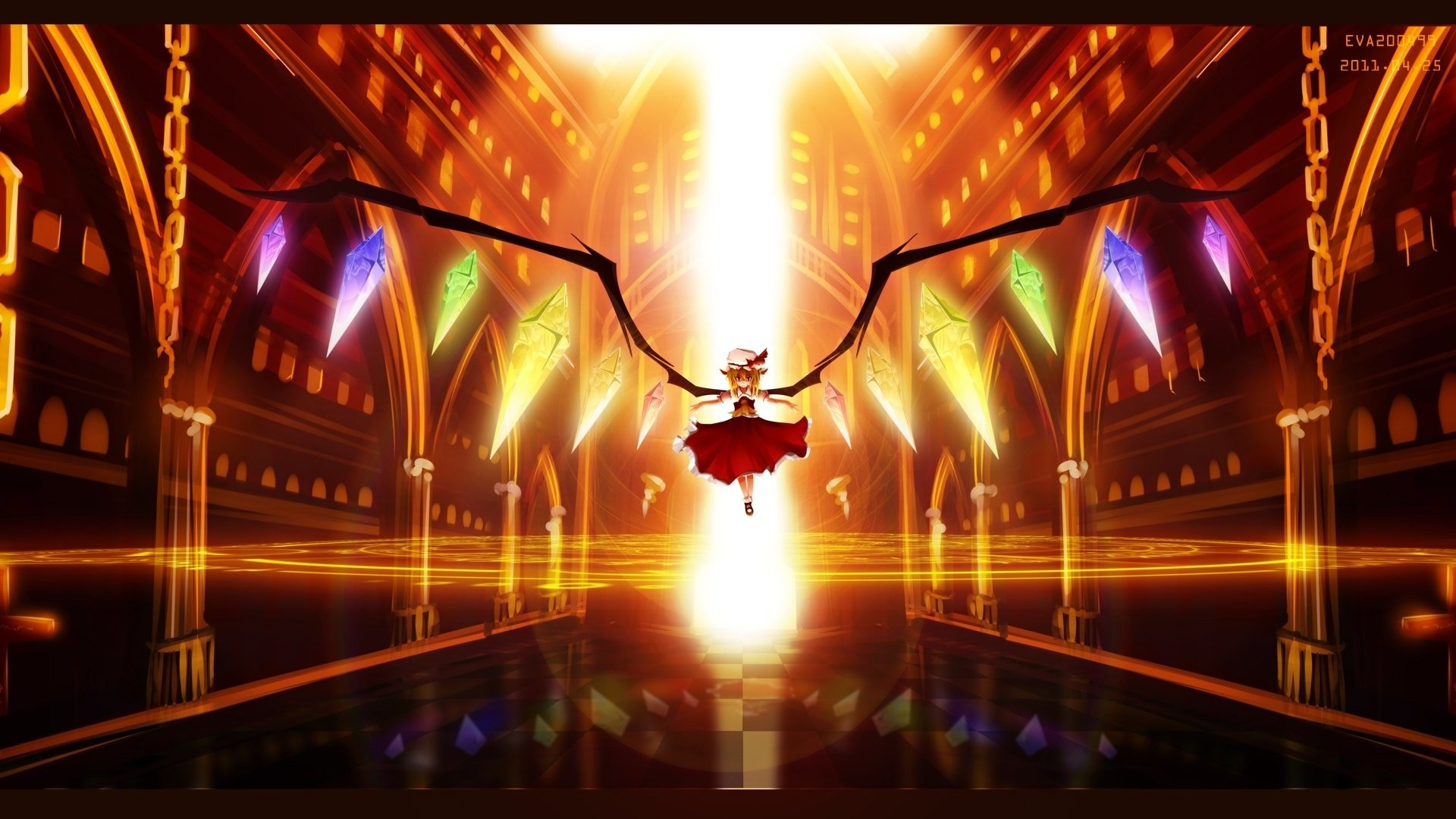 Anime – Touhou Flandre Scarlet Wallpaper