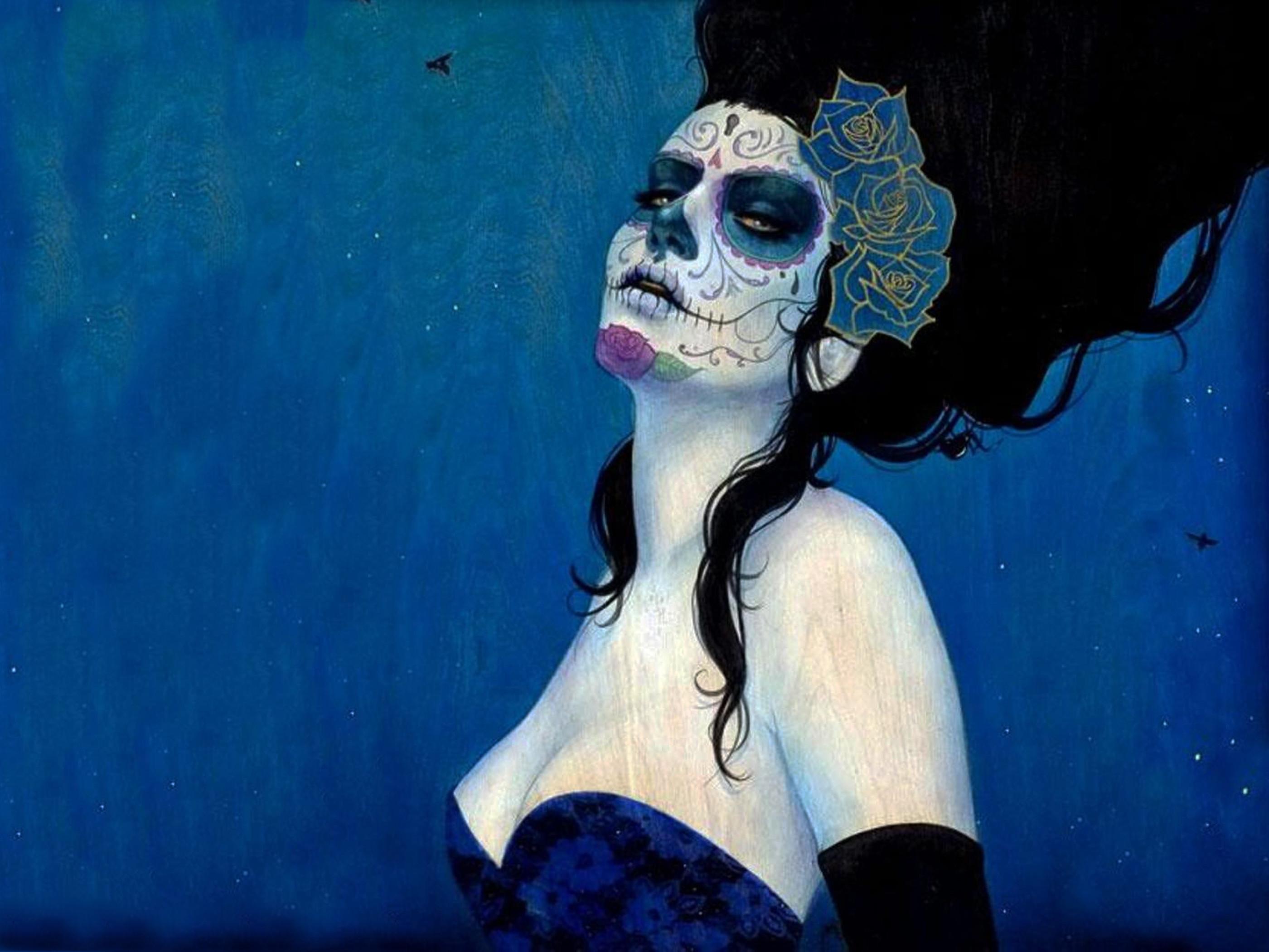 #skull & sugar skull