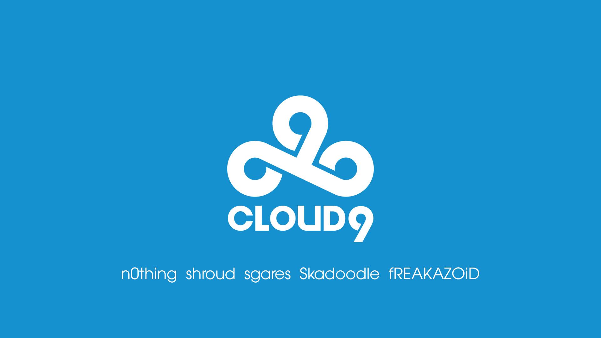 Cloud9 blue/white