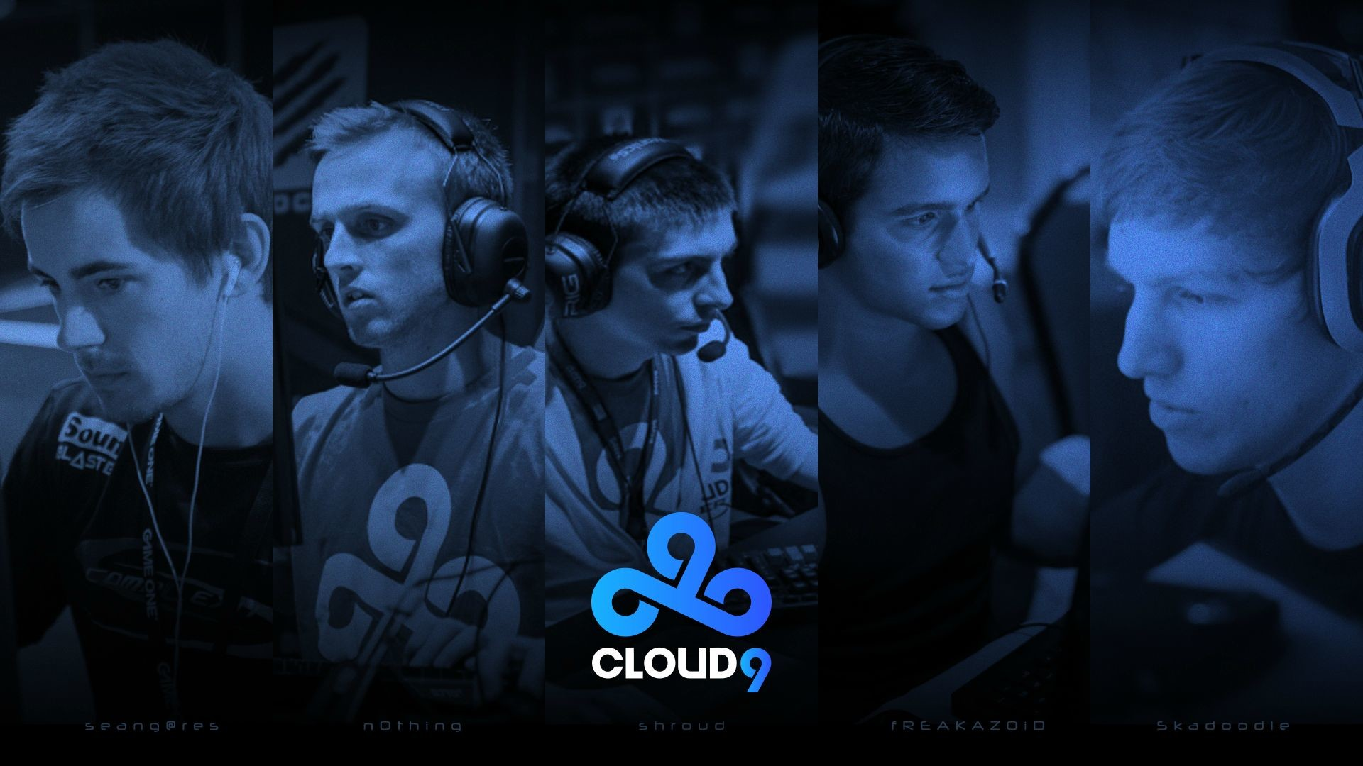 UGCCloud9 Wallpaper featuring the new lineup [2015] [1920×1080] …