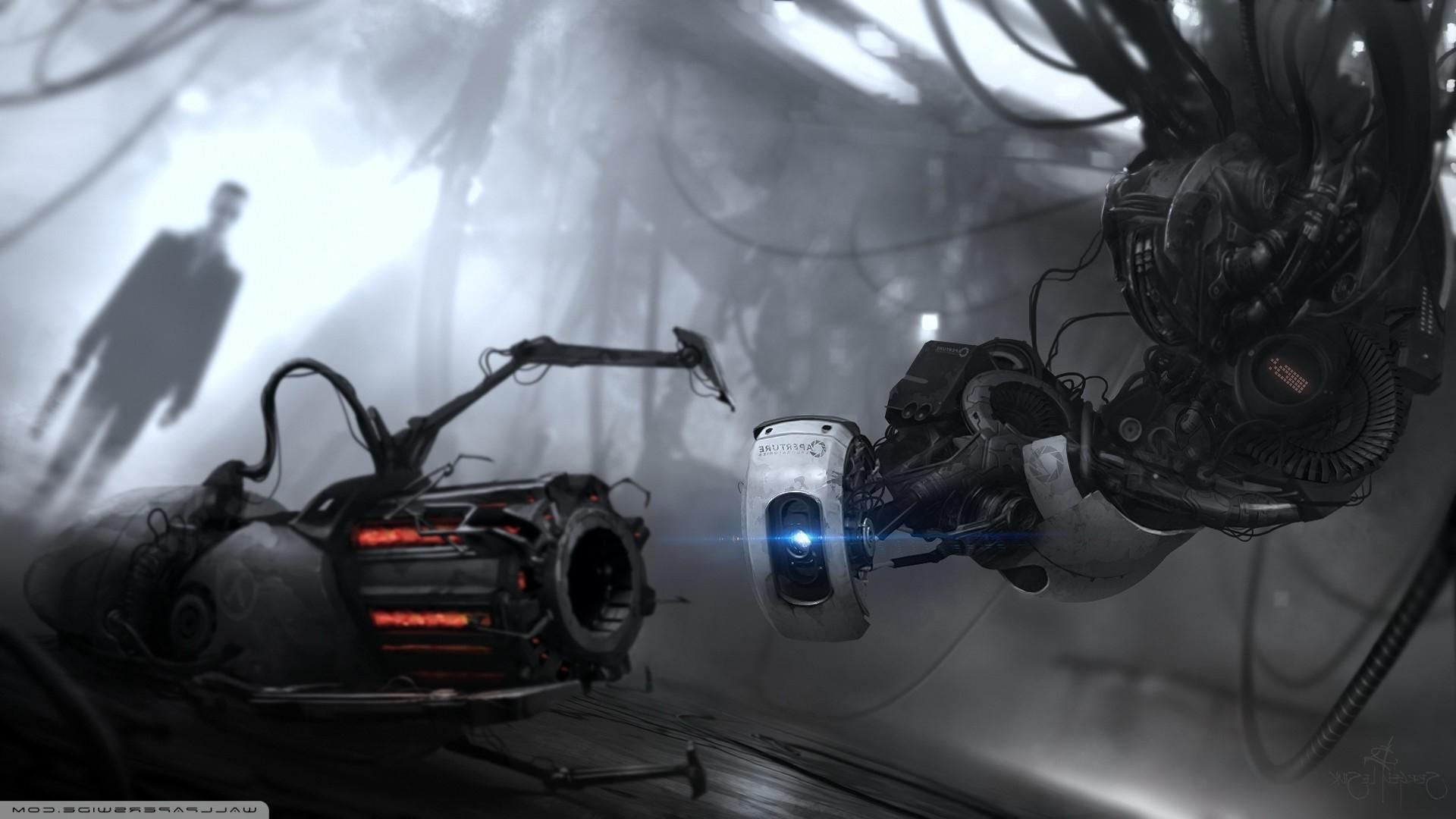 GLaDOS, Portal Gun, Portal 2, G Man Wallpapers HD / Desktop and Mobile  Backgrounds