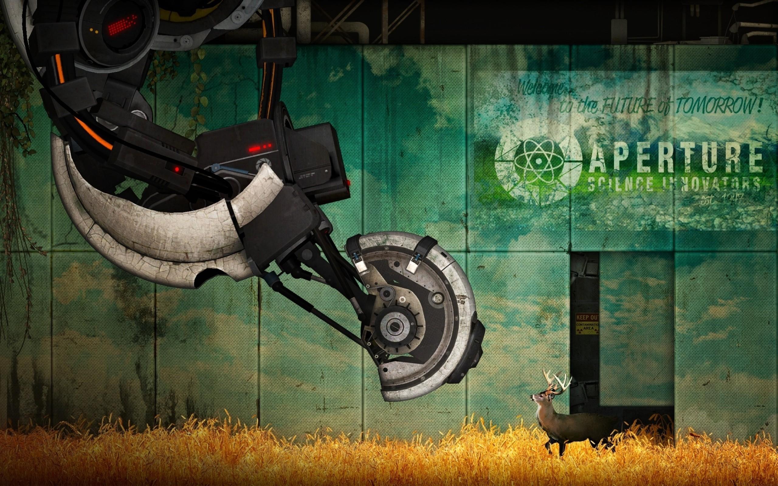 Portal 2, Portal, GLaDOS, Aperture Laboratories Wallpaper HD