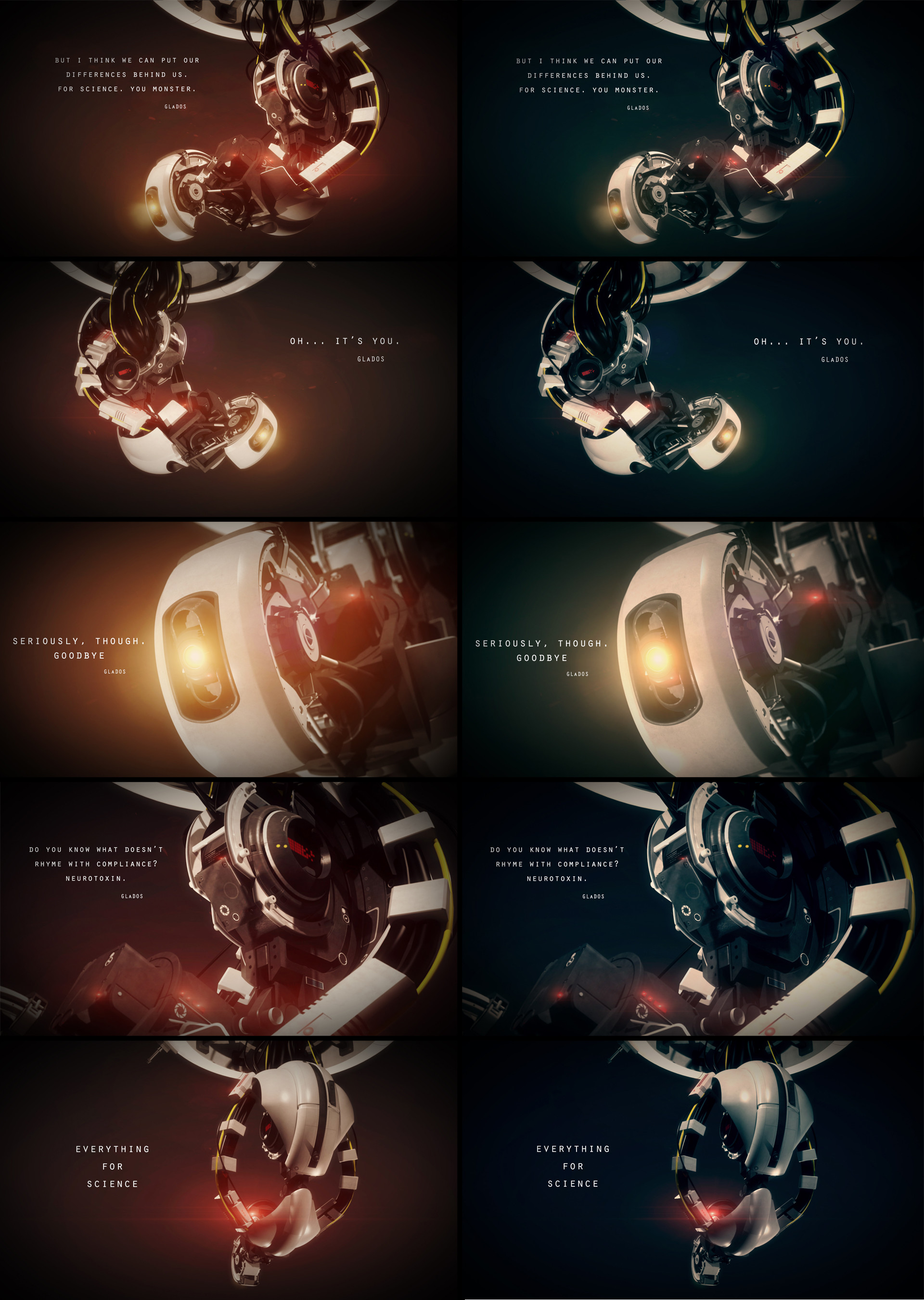 GLaDOS Quotes   GLaDOS – Wallpapers by First9 on deviantART · Portal 2