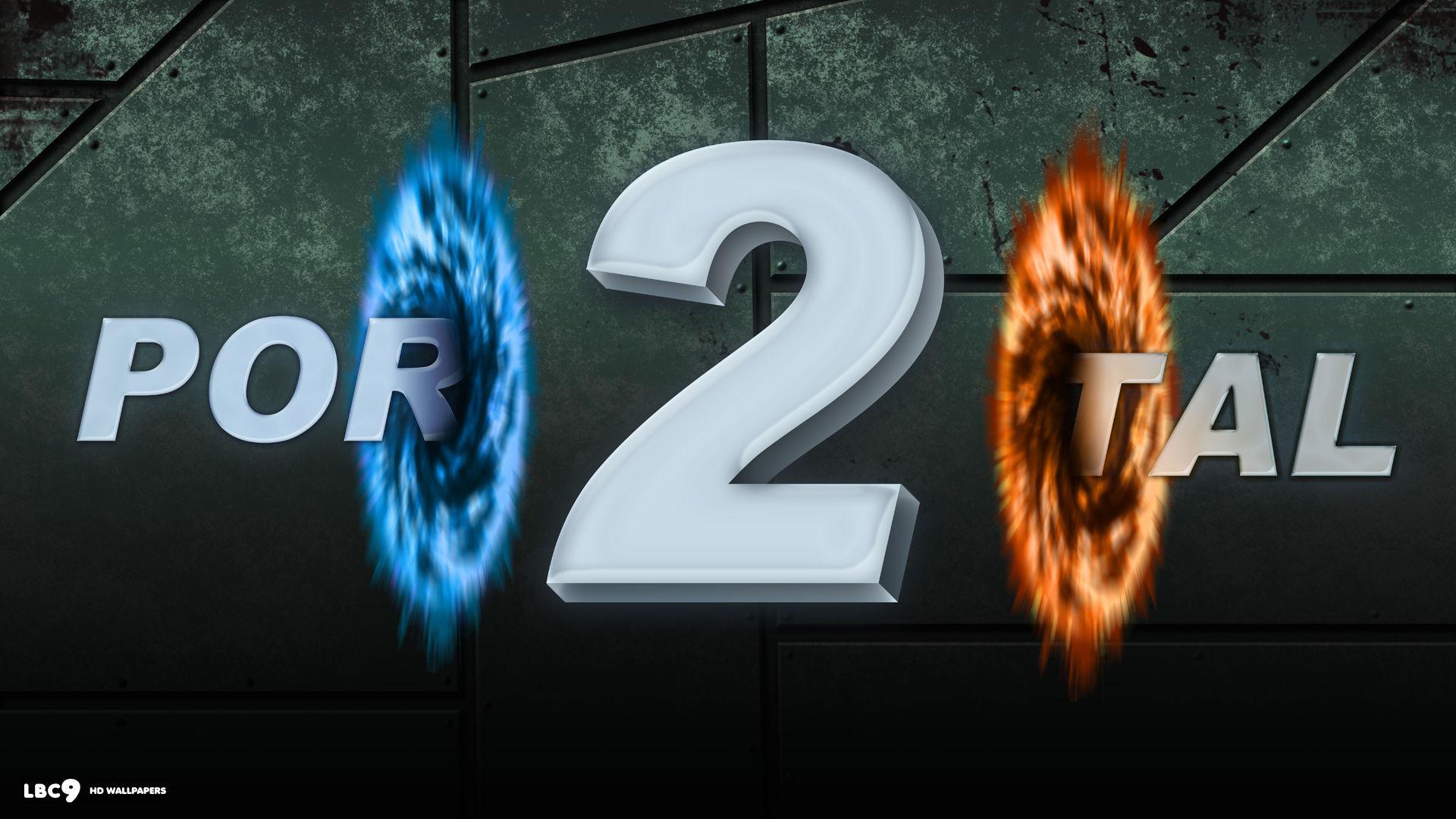 portal 2 game 1080p