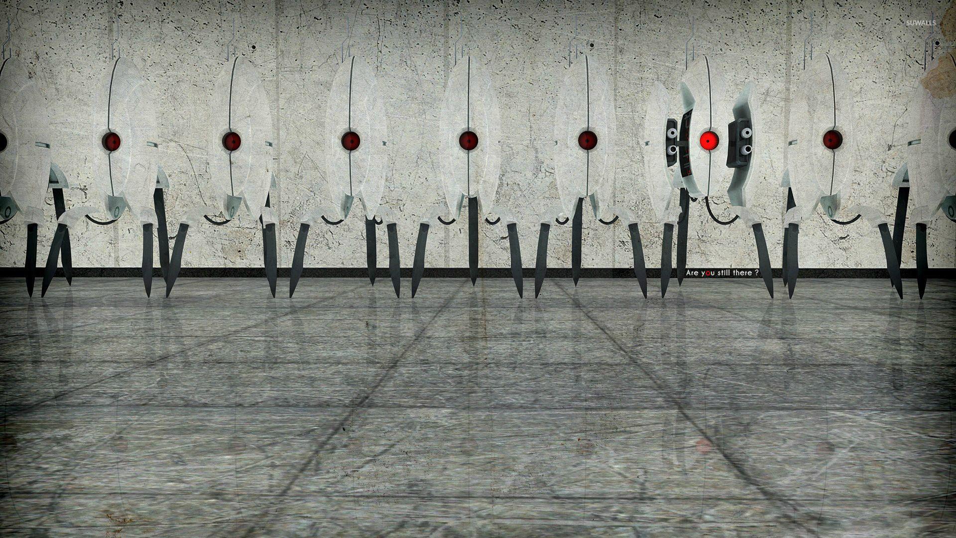Are you still there – Portal 2 wallpaper jpg