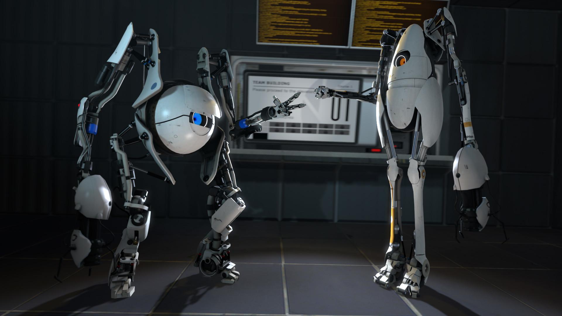 Portal 2 Atlas & P-body