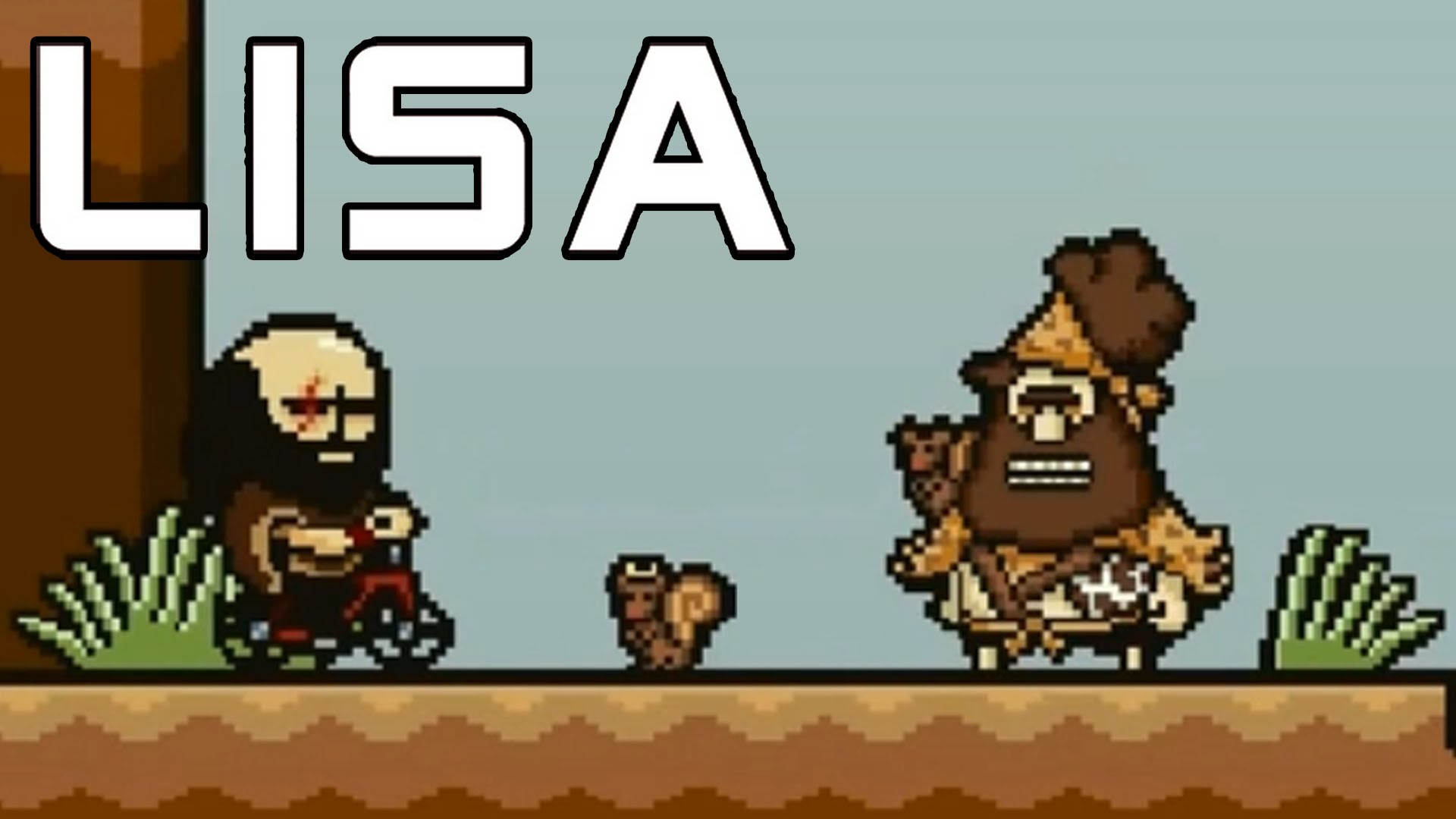 LISA The Painful RPG Part 10 Squirrel Man