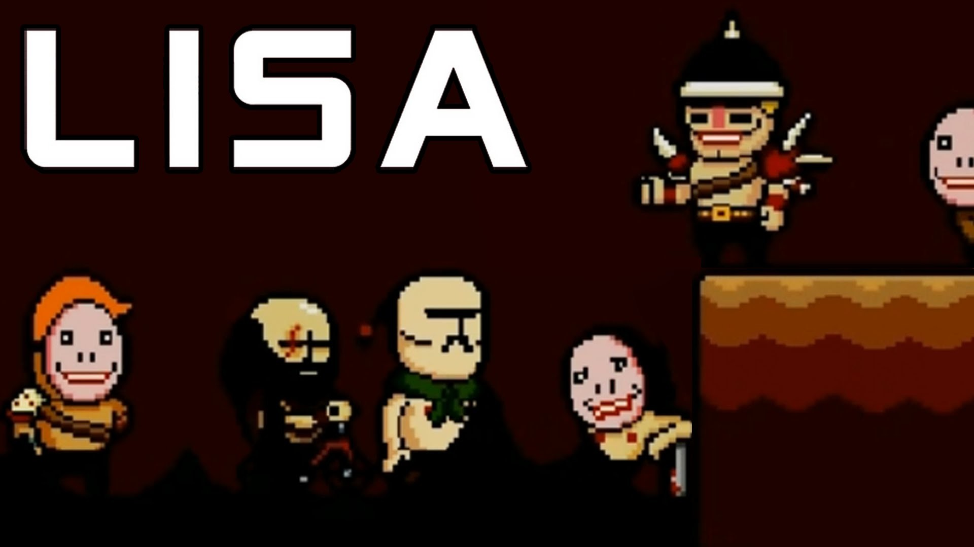 LISA The Painful RPG Part 13 Cut Off My Arm Or Kill My Friend?