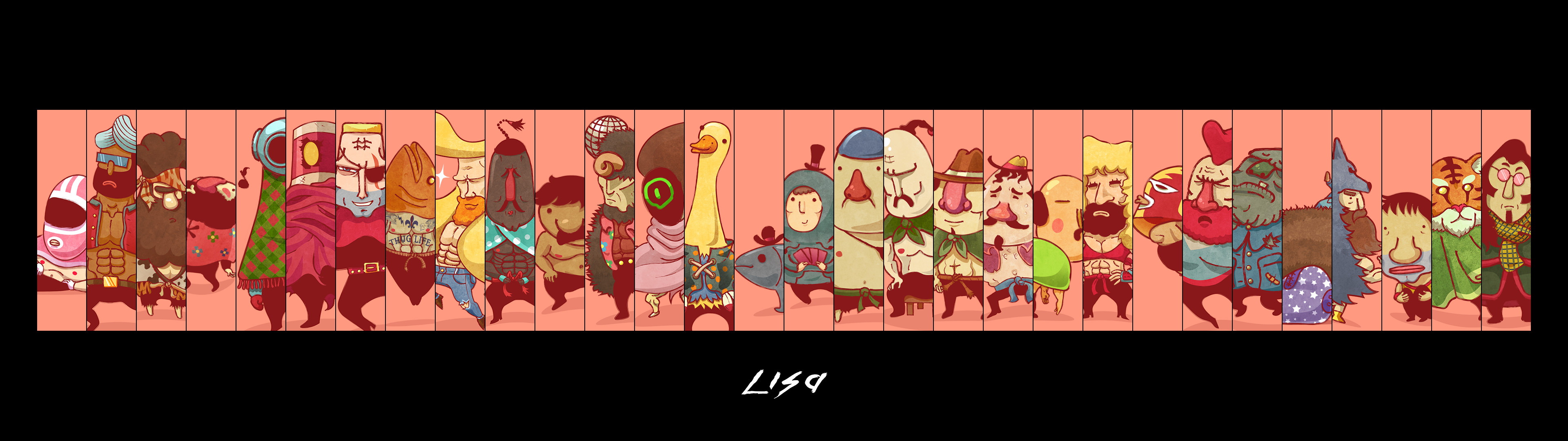 … LISA: The Painful RPG – Wallpaper by CabbageCanFly