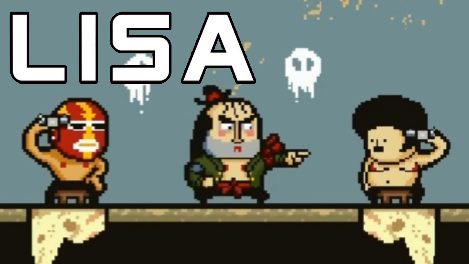 LISA The Painful RPG Part 14 Russian Roulette With Party Members Lives –  YouTube