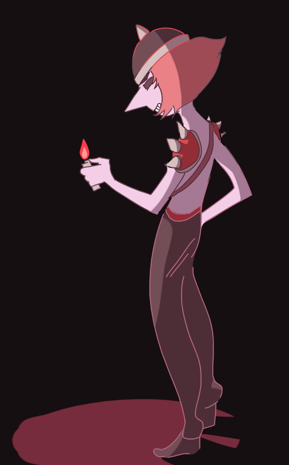 "Pearl as Buzzo ""I got the Joy, Joy, Joy, Joy, down"