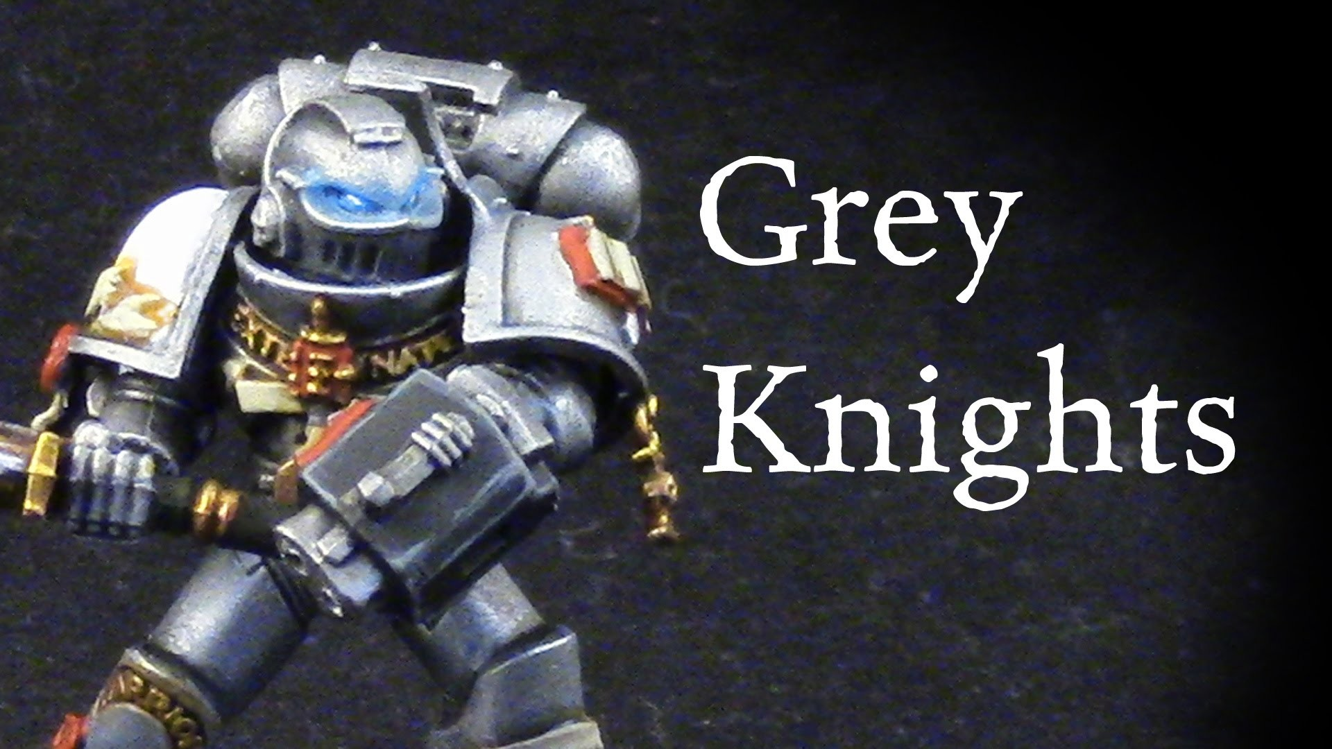 How to paint Grey Knights