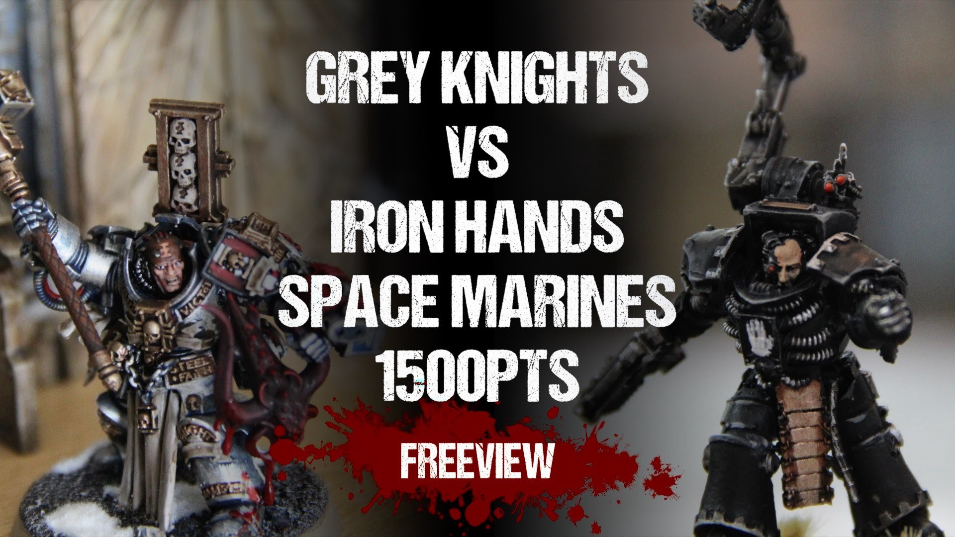 Warhammer 40,000 Battle Report: Grey Knights vs Iron Hands Space Marines  1500pts – YouTube