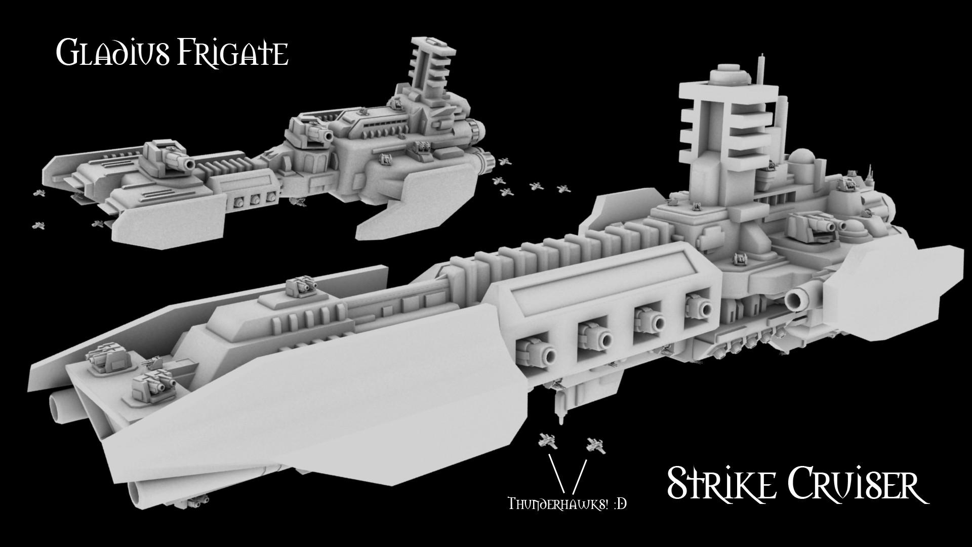 Grey Knight Fleet 1 by MikeTehFox.deviantart.com on @deviantART