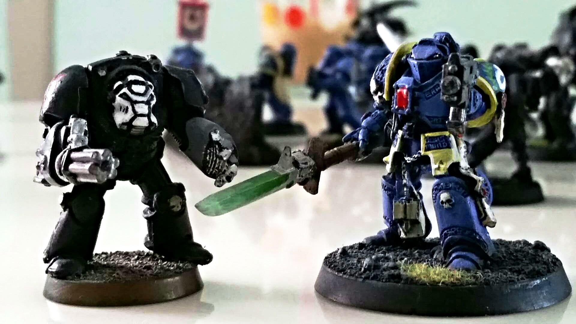Warhammer 40k Terminator/Grey Knight Duo